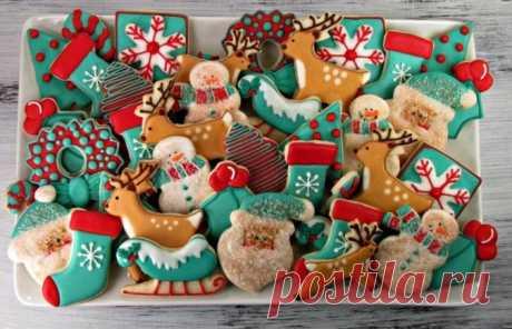 Имбирное печенье на Новый год - классические рецепты с глазурью в домашних условиях Рецепты имбирного печенья и пряников к Новому году.