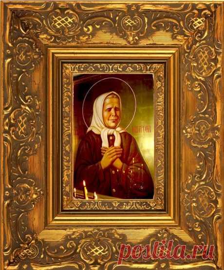 Молитвы к блаженной старице Матроне