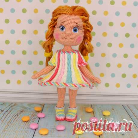 Кукла Карамелька крючком - Куколки - Вязаная жизнь | игрушки Кукла Карамелька. карамелька. Вязаная игрушка крючком. #карамелька #куклакарамелька #Вязанаяигрушкакрючком. #Вязанаяигрушка. #Вязанаякуклакрючком. #кукла. #куколка. #вязание. #вязанаякуколка. #вязанаяжизнь.  #амигурумиигрушка. #амигурумикукла. #амигурумикуколка. #мастерклассповязаниюкрючком