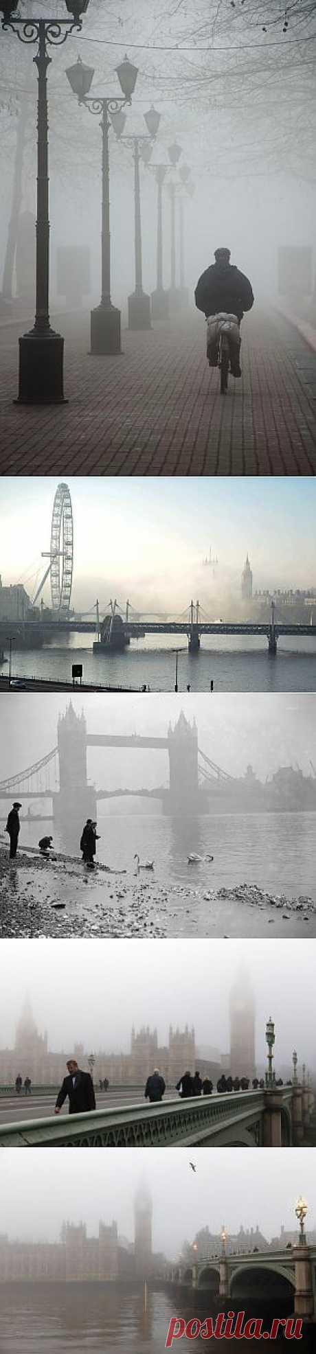 Почему Англия - Туманный Альбион?