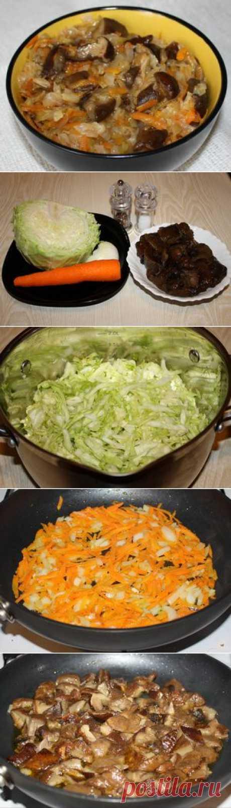 Капустная солянка с грибами | Банк кулинарных рецептов