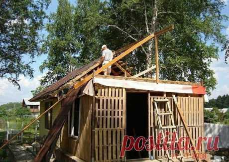Pensionāru pāris uzbūve palešu mājiņu, kas iztur vētras un ir apdzīvojama arī ziemā! FOTO – Topraksti.lv