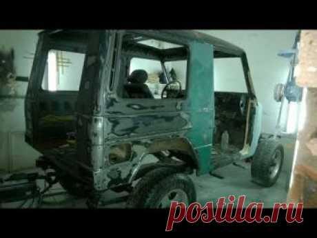 ГАЗ 69 ПЕРЕДЕЛАЛИ в Гелендваген по русски СВОИМИ РУКАМИ