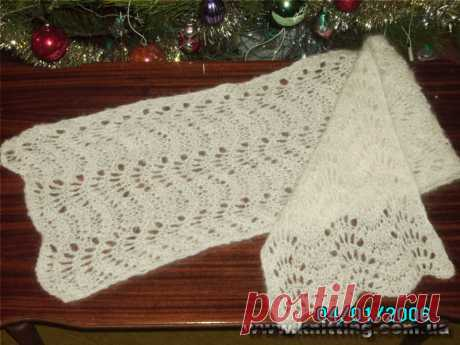Pelykh Natalya. My knitting. Knitting by spokes.