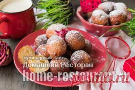 Творожные пончики - home-restaurant.ru