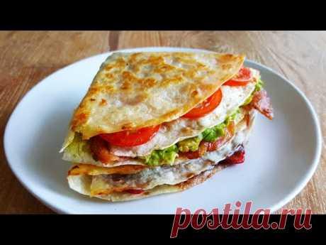 TikTok Tortilla Wrap 3 Ways – Breakfast, Lunch & Dessert