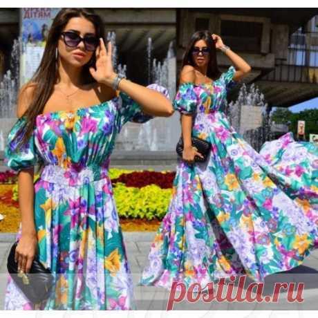Красивое платье из софта : новая коллекция шикарных платьев. Скидки все от суммы заказа.