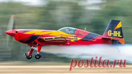 Фото Extra EA-300 (G-IIHL) - FlightAware