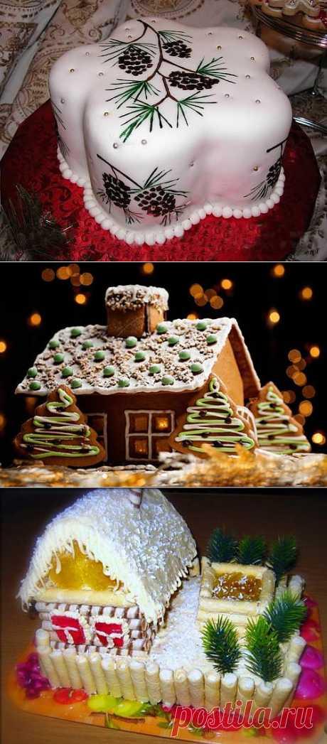 Как приготовить оригинальный новогодний торт - новогодние торты фото рецепт  | ProГорода