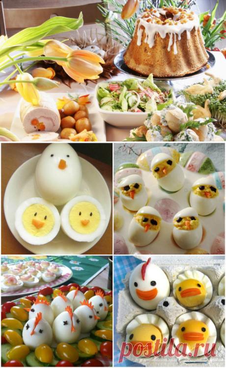 Пасхальный стол: топ 15 праздничных блюд — Вкусные рецепты