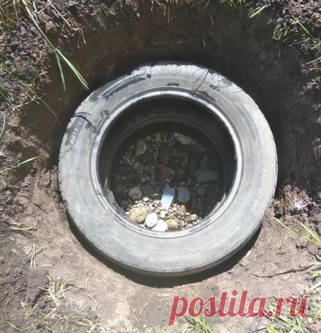 Сливная яма для бани: сделал сам, дешевле 200 рублей + фото-инструкция | Баня | От А до Я | Яндекс Дзен