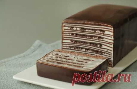 """Просто и оригинально: у подруги подсмотрела рецепт вкусного шоколадного торта """"Глазированный сырок"""""""