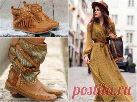 Boho-casual fashions