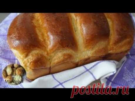 ЯПОНСКИЙ  МОЛОЧНЫЙ ХЛЕБ воздушный как пух/Hokkaido Milk Loaf