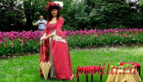 Италия,Пьемонт:фестиваль тюльпанов в замке Пралормо!