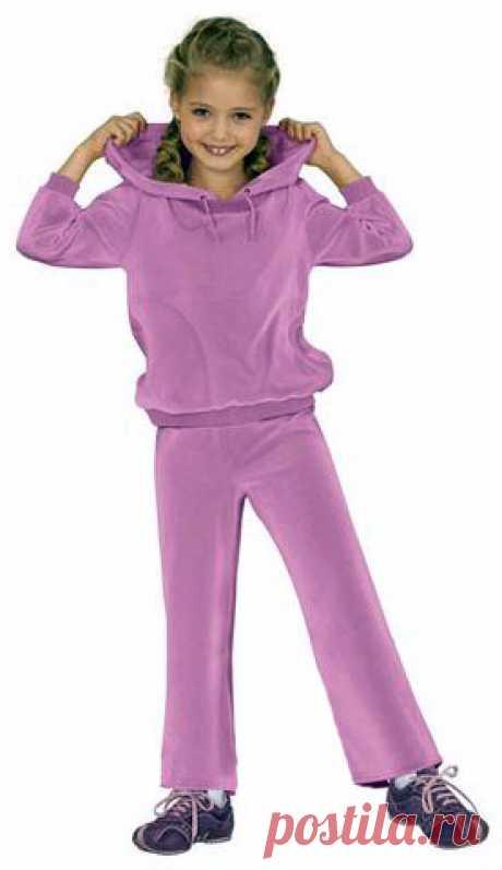 Шитье. Готовая бесплатная выкройка детского спортивного костюма! Размеры 34-44