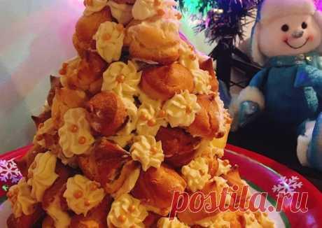Торт «Новогодняя ёлка»🎄 - пошаговый рецепт с фото. Автор рецепта Лариса Лосева 🌱🌳 . - Cookpad