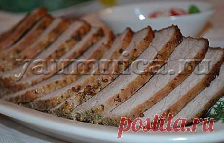 Вкусный рецепт буженины из свинины в духовке - Пошаговые рецепты с фото