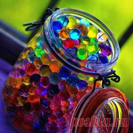 Как сделать прозрачные декоративные шарики – «водяные шарики»