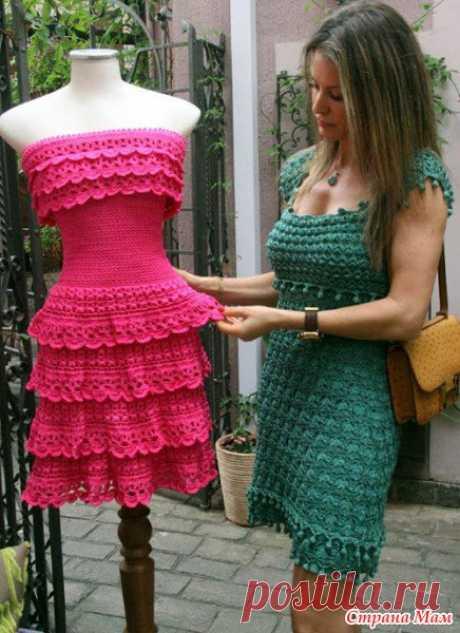 Платье Leticia (Vanessa Montoro). - Рукоделие и творчество с Солнечной))) - Страна Мам
