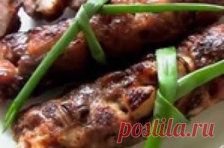 Домашние колбаски из свинины в фольге