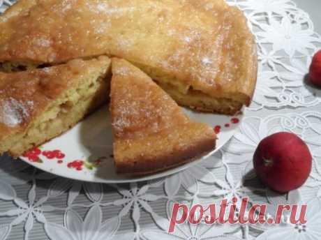 Рецепт пирога с яблочным повидлом