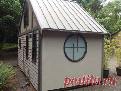 Этот домик построен на 18м², но вы только посмотрите что внутри! — Black-Cat.Me