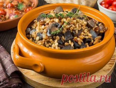 Перловая каша с грибами - пошаговый рецепт с фото на Повар.ру