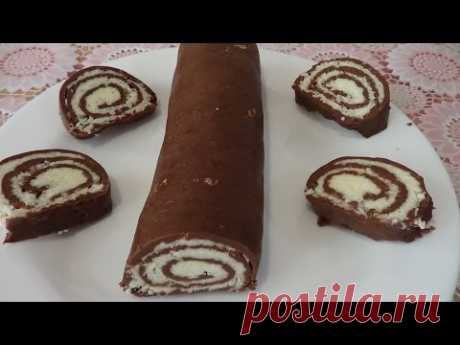 Baunta roll, the recipe without pastries in 10 minutes