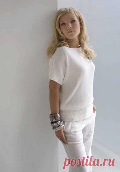 Топ спицами для женщин, 20 моделей с описанием и схемами, Вязание для женщин