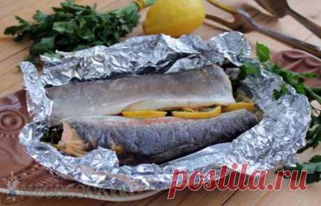 Рыба в мультиварке в фольге - рецепт с пошаговыми фото — MEGOCOOKER