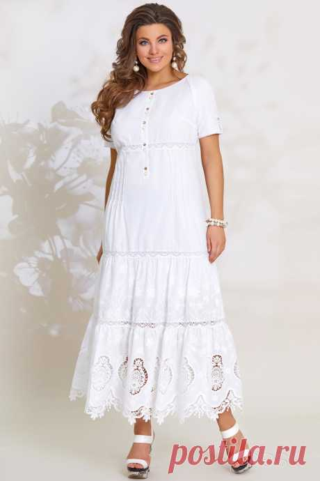 Платье Vittoria Queen 8243 белый