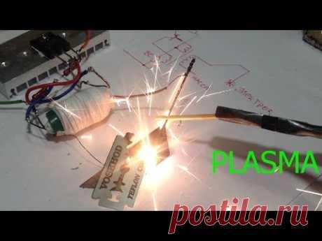 Мини аппарат для плазменной сварки и резки своими руками.Plasma welding.