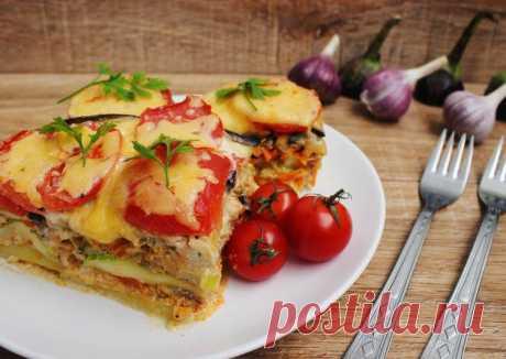 Мусака с мясом и баклажанами — Sloosh – кулинарные рецепты