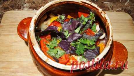 Чанахи - мясо с овощами по-грузински – пошаговый рецепт с фотографиями