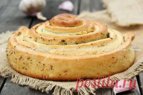 El pan de ajo.