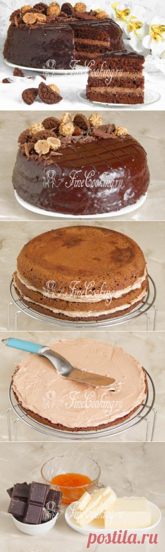 Торт Прага в домашних условиях - рецепт с фото
