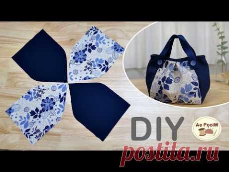 Новая идея!! выкройка сумочки, простота изготовления.