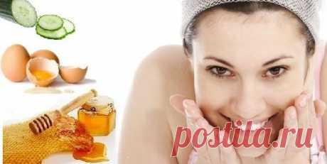 Белково-медовая маска для успокоения раздраженной кожи вашего лица