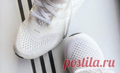Как правильно ухаживать за белыми кроссовками