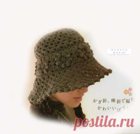 Вязание Япония.Альбом«Ondori №439 шапки»