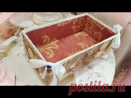 Коробочка для ванной комнаты 😀