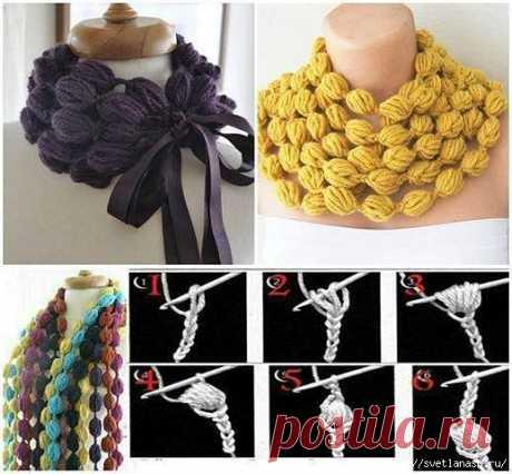 Interesting scarf hook