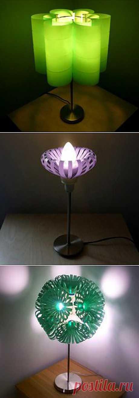 Оригинальные светильники с функцией декоративного освещения.