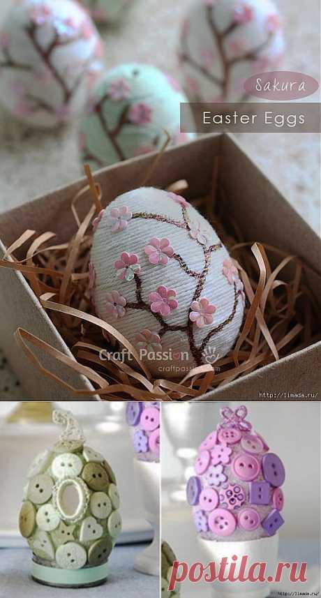 декор пасхальных яиц часть 1.