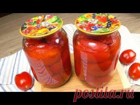 Томаты в собственном соку  по-итальянски | Tomatoes in own juice in Italian