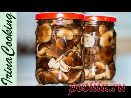 Как МАРИНОВАТЬ ОПЯТА и другие грибы 🍄 Заготовки Грибов на ЗИМУ ✧ Ирина Кукинг - YouTube