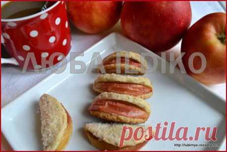 Печенье с яблоками | 4vkusa.ru