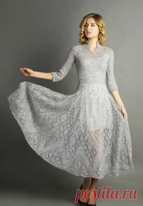 5 восхитительных вязаных платьев из мохера. Будьте богиней!   Только handmade   Яндекс Дзен