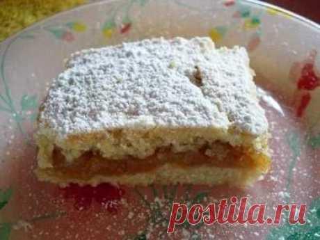 Турецкий яблочный пирог - остается долго свежим и суперсочным - Простые рецепты Овкусе.ру